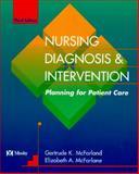 Nursing Care Plans : Nursing Diagnosis and Intervention, Gulanick, Meg, 0801677459