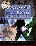 5 Minutes to a Great Real Estate Sales Meeting : A Desk Reference for Managing Brokers, Mayfield, John D., 0324207468