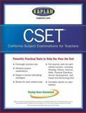 Kaplan CSET, Kaplan Publishing Staff, 074326746X
