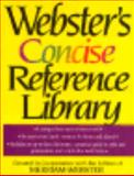 Webster's Concise Reference Library, Merriam-Webster, Inc. Staff, 0765197464