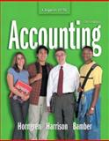 Accounting : Chapters 12 - 26, Horngren, Charles T. and Harrison, Walter T., 013117746X