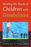 Meeting the Needs of Children with Disabilities, Aron, Laudan Y. and Loprest, Pamela J., 0877667462