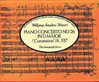 Piano Concerto No. 26 in D Major, Wolfgang Amadeus Mozart, 0486267474