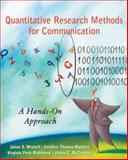 Quantitative Research Methods for Communication : A Hands-On Approach, Wrench, Jason S. and McCroskey, James C., 0195337476