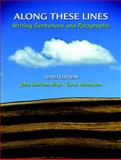 Along These Lines : Writing Sentences and Paragraphs (with MyWritingLab Student Access Code Card), Biays, John and Wershoven, Carol, 0135147476