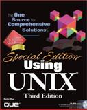 Using UNIX : Special Edition, Galvin, Peter B., 0789717476
