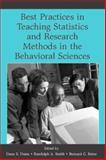 Best Practices for Teaching Statistics and Research Methods in the Behavioral Sciences, , 0805857478