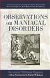 Observations on Maniacal Disorder, Pargeter, 0415867487