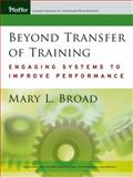 Beyond Transfer of Training 9780787977481