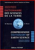 Comprehensive Dictionary of Earth Science : English-French / French-English, Moureau, Magdeleine and Brace, Gerald, 2710807491