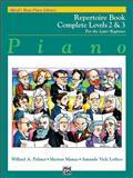 Alfred's Basic Piano Course Repertoire, Willard A. Palmer and Morton Manus, 0739027492