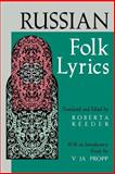Russian Folk Lyrics, , 0253207495