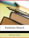 Riddara-Rímur, Theodor Wisén, 1148567496