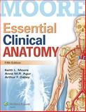 Essential Clinical Anatomy, Moore, Keith L. and Agur, Anne M. R., 1451187491