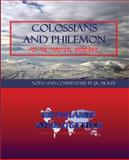 Colossians and Philemon for the Practical Messianic, J. K. McKee, 1469957507