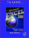 Microsoft Excel 2000, O'Leary, Timothy and O'Leary, Linda I., 0072337508