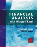 Financial Analysis with Microsoft Excel, Mayes, Timothy R. and Shank, Todd M., 0324407505