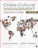 Cross-Cultural Management : Essential Concepts, Thomas, David C. and Peterson, Mark F., 1452257507