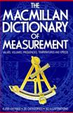 The Macmillan Dictionary of Measurement 9780025257504