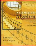 Intermediate Algebra : Concepts and Applications, Bittinger, Marvin L. and Ellenbogen, David J., 0201847507