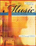 Workbook t/a Music in Theory and Practice, Volume I, Benward, Bruce and Saker, Marilyn, 0073127507