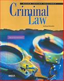 Black Letter Outline on Criminal Law, Dressler, Joshua, 0314927506