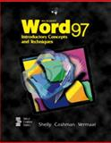 Microsoft Word 97 Introductory Concepts and Techniques, Shelly, Gary B. and Cashman, Thomas J., 0789527502