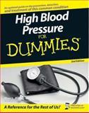 High Blood Pressure for Dummies, Alan L. Rubin, 0470137517