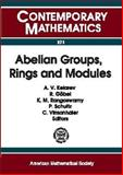 Abelian Groups, Rings and Modules : AGRAM 2000 Conference July 9-15, 2000 Perth, Western Australia, , 0821827510