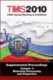 Materials Processing and Properties, Minerals, Metals and Materials Society Staff, 0873397517