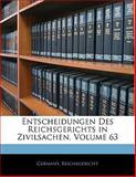 Entscheidungen Des Reichsgerichts in Zivilsachen, Volume 38, , 1142337510