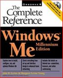 Windows Millenium Edition : The Complete Reference, Levine, John R. and Young, Margaret Levine, 0072127511
