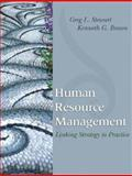 Human Resource Management : Linking Strategy to Practice, Stewart, Greg L. and Brown, Kenneth G., 0471717517