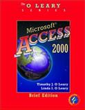 Microsoft Access 2000, O'Leary, Timothy J. and O'Leary, Linda I., 0072337516