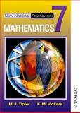 New National Framework Mathematics, M. J. Tipler and K. M. Vickers, 0748767517