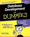 Database Development for Dummies, Allen G. Taylor, 0764507524