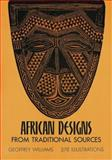 African Designs from Traditional Sources, Geoffrey Williams, 0486227529