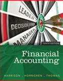 Financial Accounting, Harrison, Walter T., Jr. and Horngren, Charles T., 0133427536