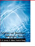 Sichtbare und Unsichtbare Bewegungen; Vorträge, H. a. Lorentz and H. A. Lorentz, 1140637533