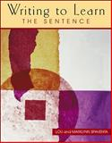 Writing to Learn : The Sentence, Spaventa, Louis J. and Spaventa, Marilynn, 0072307536