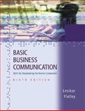 Basic Business Communication : Skills for Empowering the Internet Generation with Student CD-ROM/PowerWeb, and BComm Skill Booster, Lesikar, Raymond Vincent and Flatley, Marie E., 0072537531