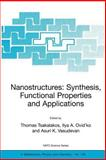Nanostructures : Synthesis, Functional Properties and Applications, , 1402017537