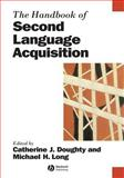 The Handbook of Second Language Acquisition, , 0631217541