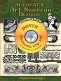 Authentic Art Nouveau Designs CD-ROM and Book, , 0486997545