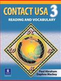 Contact USA : A Reading and Vocabulary Text, Abraham, Paul F. and Mackey, Daphne, 0135187540