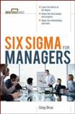 Six Sigma for Managers, Brue, Greg, 0071387552