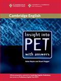 Insight into PET, Helen Naylor and Stuart Hagger, 0521527554