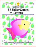 37 FolderGames for Letters, Marilynn G Barr, 193725755X