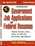 Government Job Applications and Federal Resumes, Anne McKinney, 1475037554