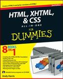 HTML, XHTML and CSS All-in-One for Dummies, Andy Harris, 0470537558